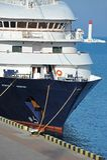 Rejs podróży statek fotografia stock