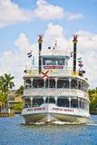 Rejs z dżungli królowej riverboat Zdjęcia Royalty Free