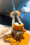 rejsu doku arkany statek wiążący Zdjęcia Stock
