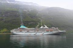 rejsu Norway statek Zdjęcia Royalty Free
