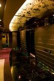 rejsu wnętrzy wspaniały spoczynkowy statek Fotografia Royalty Free