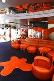 rejsu wnętrzy wspaniały spoczynkowy statek Obrazy Royalty Free