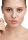 Rejuvenation of skin Royalty Free Stock Photography