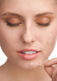 Rejuvenation of skin Royalty Free Stock Images