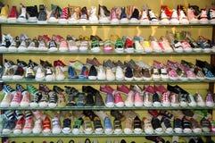 Rek van schoenen Royalty-vrije Stock Fotografie