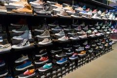 Rek van schoenen Royalty-vrije Stock Foto's