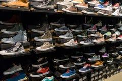 Rek van schoenen Royalty-vrije Stock Foto