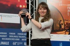 Reka Bucsi, zwycięzca Audi krótkiego filmu nagroda przy Berlinale 2018 zdjęcia royalty free