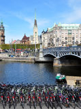 Reka in Stockholm, Schweden, Europa Stockfotografie