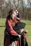 Rekawka -波兰传统的在星期二未认出的参加者,庆祝在克拉科夫在复活节以后 库存照片