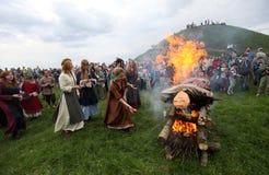 Rekawka -波兰传统 库存照片
