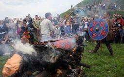 Rekawka -波兰传统 库存图片