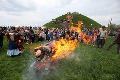 Rekawka -波兰传统 免版税图库摄影