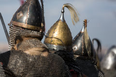 Rekawka - Polish tradition, celebrated in Krakow on Tuesday after Easter. Stock Photos