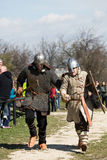 Rekawka - Polish tradition, celebrated in Krakow on Tuesday after Easter. Stock Image