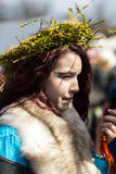 Rekawka - Polish tradition, celebrated in Krakow on Tuesday after Easter. Royalty Free Stock Images