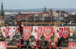 Rekawka - polnische Tradition, gefeiert in Krakau am Dienstag nach Ostern Lizenzfreies Stockbild