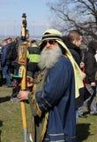 Rekawka - tradition polonaise, célébrée à Cracovie mardi après Pâques Images stock