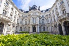 Rekenhof - cour des comptes in Brussel, België Royalty-vrije Stock Foto