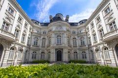 Rekenhof - cour des comptes in Brussel, België Stock Foto