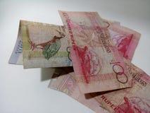 100 rekening, het geld van Seychellen Royalty-vrije Stock Afbeeldingen