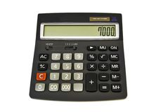 Rekenmachine - calculator Stock Afbeelding