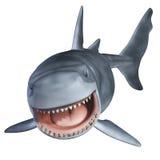 Rekin 3d Obrazy Royalty Free