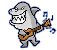 Rekinu muzyk Royalty Ilustracja