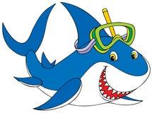 rekinu wielki biel ilustracja wektor