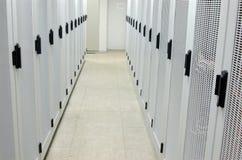 Rekken in de Zaal van de Apparatuur Stock Afbeelding
