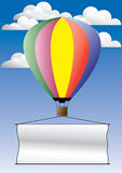 reklama balonowy Obrazy Royalty Free