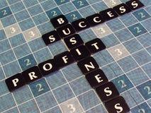 reklama biznesu Zdjęcie Royalty Free