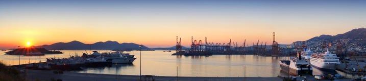 Reklama port Zdjęcie Stock