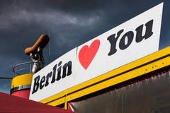 Reklama w Berlin zdjęcie stock