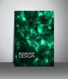 Reklamblad- eller broschyrdesign Royaltyfri Foto