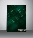 Reklamblad- eller broschyrdesign Arkivfoton