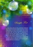 Reklamblad för nytt år Royaltyfria Foton