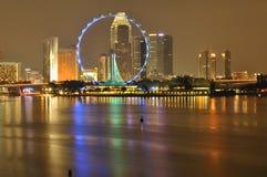 reklambladsingapore horisont Royaltyfri Bild