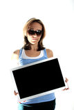 Reklamefläche Lizenzfreie Stockbilder