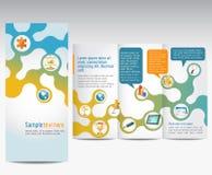 Reklamowa broszurka Zdjęcia Royalty Free