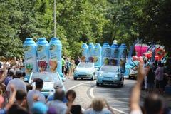 Reklamowa karawana wycieczka turysyczna de Francja 2013 Zdjęcie Royalty Free