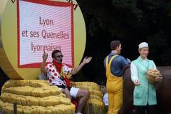 Reklamowa karawana wycieczka turysyczna de Francja 2013 Fotografia Royalty Free