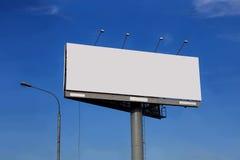 Reklamowego billboardu szablon Zdjęcia Royalty Free