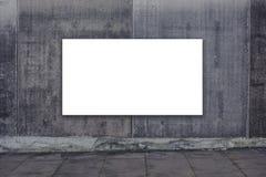 reklamowego blank billboardu Zdjęcia Royalty Free