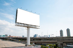 reklamowego blank billboardu Zdjęcia Stock