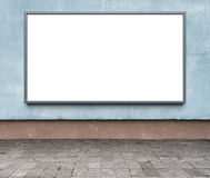 reklamowego blank billboardu Obrazy Royalty Free