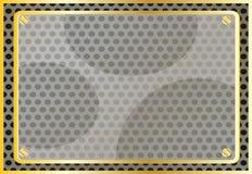 reklamowej elementu struktury złoty wektor Zdjęcia Stock