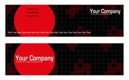 reklamowi bookmarks Fotografia Stock