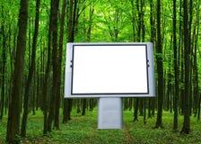 reklamowy billboard Obrazy Stock