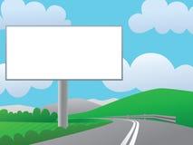 reklamowy billboard Ilustracji